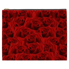 Romantic Red Rose Cosmetic Bag (xxxl)
