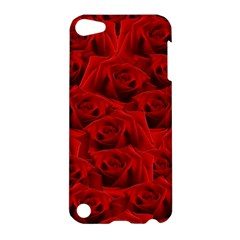Romantic Red Rose Apple Ipod Touch 5 Hardshell Case
