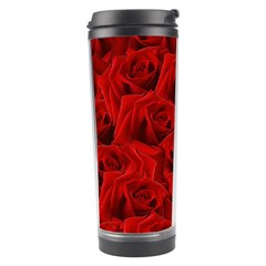 Romantic Red Rose Travel Tumbler