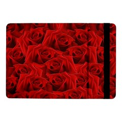Romantic Red Rose Samsung Galaxy Tab Pro 10 1  Flip Case by LoolyElzayat