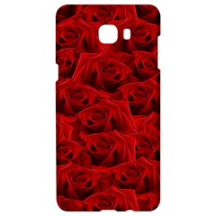 Romantic Red Rose Samsung C9 Pro Hardshell Case  by LoolyElzayat