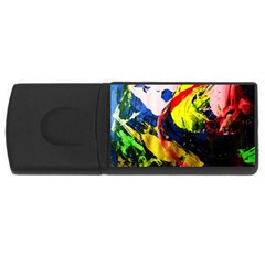 Global Warming 2 Rectangular Usb Flash Drive