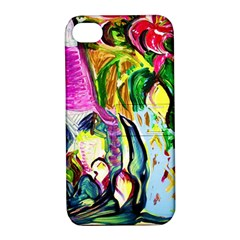Lilac And Lillies 2 Apple Iphone 4/4s Hardshell Case With Stand by bestdesignintheworld
