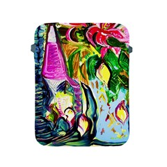 Lilac And Lillies 2 Apple Ipad 2/3/4 Protective Soft Cases by bestdesignintheworld