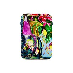 Lilac And Lillies 2 Apple Ipad Mini Protective Soft Cases by bestdesignintheworld