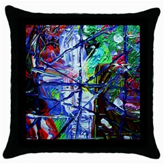 Depression 7 Throw Pillow Case (black)