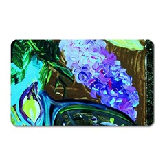Lilac And Lillies 1 Magnet (rectangular)
