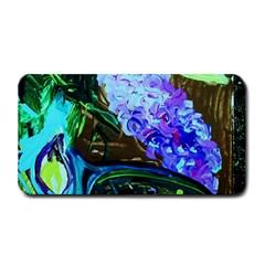 Lilac And Lillies 1 Medium Bar Mats by bestdesignintheworld