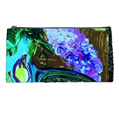 Lilac And Lillies 1 Pencil Cases