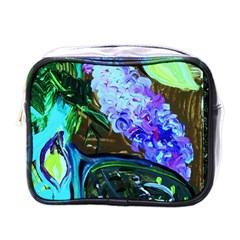 Lilac And Lillies 1 Mini Toiletries Bags