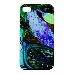 Lilac And Lillies 1 Apple Iphone 4/4s Hardshell Case