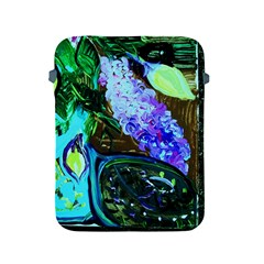 Lilac And Lillies 1 Apple Ipad 2/3/4 Protective Soft Cases by bestdesignintheworld