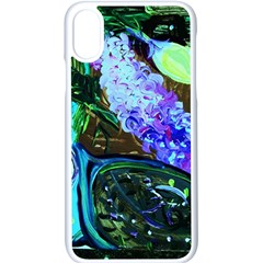 Lilac And Lillies 1 Apple Iphone X Seamless Case (white)