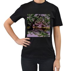 Hot Day In Dallas 31 Women s T Shirt (black)