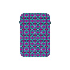 Pink Green Turquoise Swirl Pattern Apple Ipad Mini Protective Soft Cases