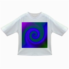 Swirl Green Blue Abstract Infant/toddler T Shirts