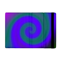 Swirl Green Blue Abstract Ipad Mini 2 Flip Cases