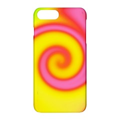 Swirl Yellow Pink Abstract Apple Iphone 8 Plus Hardshell Case