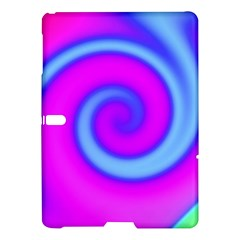 Swirl Pink Turquoise Abstract Samsung Galaxy Tab S (10 5 ) Hardshell Case  by BrightVibesDesign