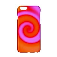 Swirl Orange Pink Abstract Apple Iphone 6/6s Hardshell Case