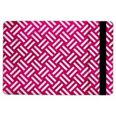 Woven2 White Marble & Pink Leather Ipad Air 2 Flip