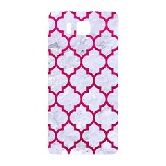 Tile1 White Marble & Pink Leather (r) Samsung Galaxy Alpha Hardshell Back Case