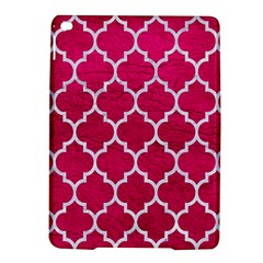 Tile1 White Marble & Pink Leather Ipad Air 2 Hardshell Cases