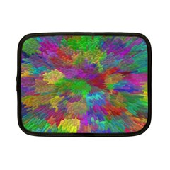 Colorful Patern Art Rainbow Netbook Case (small)