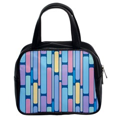Retro Blocks Classic Handbags (2 Sides)