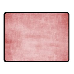 Red Color Patern Art Fleece Blanket (small)