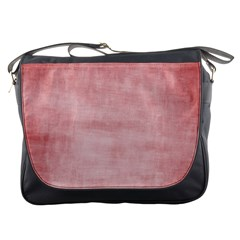 Red Color Patern Art Messenger Bags
