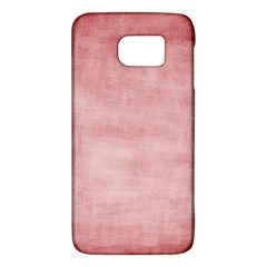 Red Color Patern Art Galaxy S6