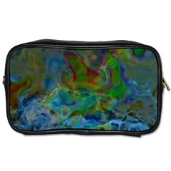 Rainbow Patern Color Toiletries Bags 2 Side