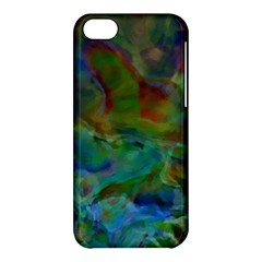Rainbow Patern Color Apple Iphone 5c Hardshell Case