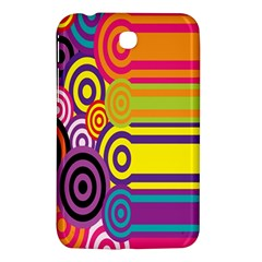 Retro Circles And Stripes 60s Samsung Galaxy Tab 3 (7 ) P3200 Hardshell Case