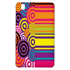 Retro Circles And Stripes 60s Samsung Galaxy Tab Pro 8 4 Hardshell Case