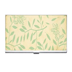 Leaves Vintage Pattern Business Card Holders