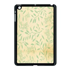 Leaves Vintage Pattern Apple Ipad Mini Case (black) by goodart