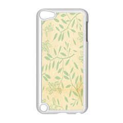 Leaves Vintage Pattern Apple Ipod Touch 5 Case (white)