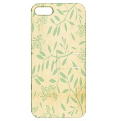 Leaves Vintage Pattern Apple Iphone 5 Hardshell Case With Stand by goodart