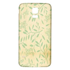Leaves Vintage Pattern Samsung Galaxy S5 Back Case (white)