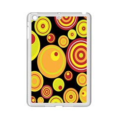 Retro Circles Background Yellow Ipad Mini 2 Enamel Coated Cases