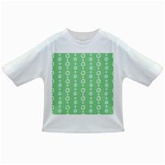 Retro Green Pattern Infant/toddler T Shirts