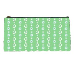 Retro Green Pattern Pencil Cases