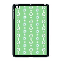 Retro Green Pattern Apple Ipad Mini Case (black)