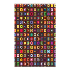 Retro Pattern Shower Curtain 48  X 72  (small)