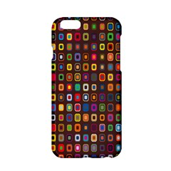 Retro Pattern Apple Iphone 6/6s Hardshell Case