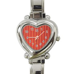 Retro Pattern Texture Fabric Art Material Graphic Textile Heart Italian Charm Watch