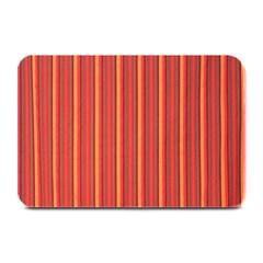 Retro Pattern Texture Fabric Art Material Graphic Textile Plate Mats by goodart