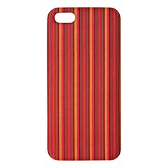 Retro Pattern Texture Fabric Art Material Graphic Textile Iphone 5s/ Se Premium Hardshell Case by goodart